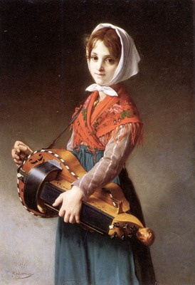 The Hurdy-Gurdy Girl