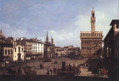 The Piazza Della Signoria In Florence