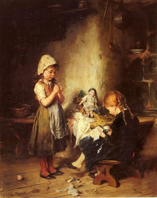 The Young Seamstresses