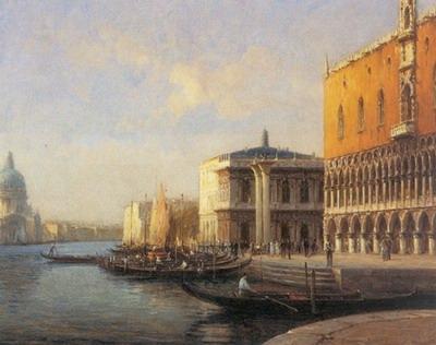 Venice Promenade de Vantle Palaisdes Doges