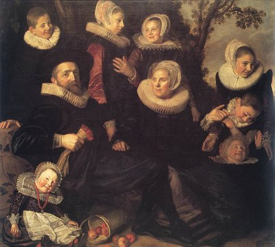Family Portrait in a Landscape