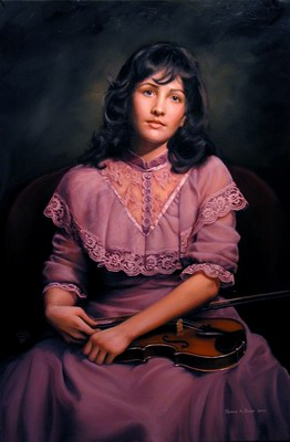 Kathleen with violin