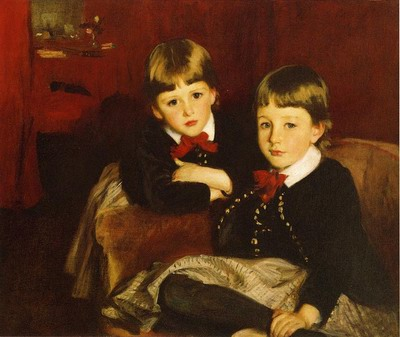 Portrait of Two Children, The Forbes Brothers