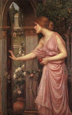Psyche Entering Cupids Garden