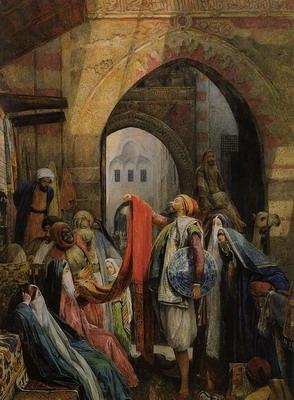 A Cairo Bazaar., the della I