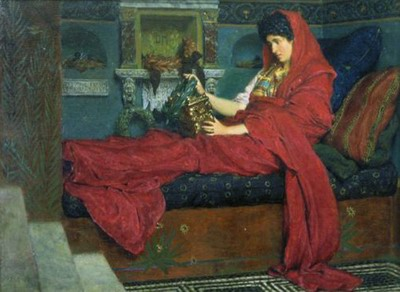 Agrippina with the ashes of Germanicus