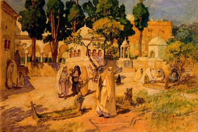Arab Women at the Town Wall