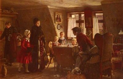 Die Wohltaterin, the benefactress