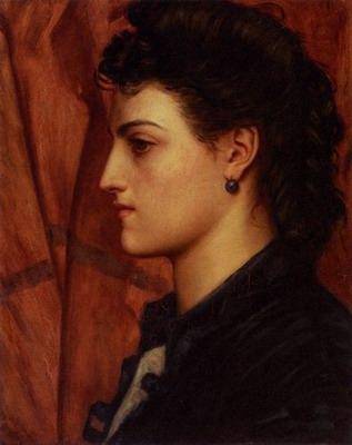 Head Of An Italian Girl