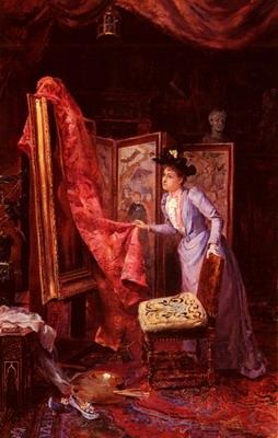 IL Studio Da Pittura, the painting studio