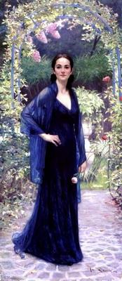 Jennifer in Garden