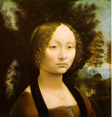Portrait of Ginevra Benci