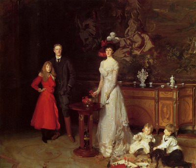 Sir George Sitwell, Lady Ida Sitwell and Family
