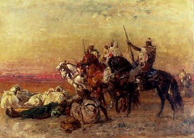 The Halt In The Desert