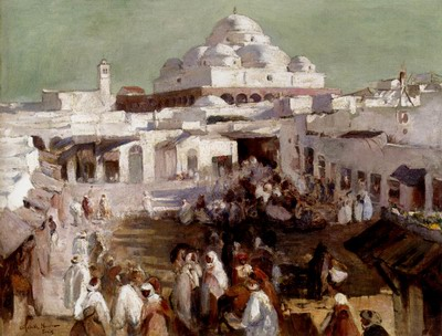 The Mosque, Tunis