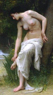 Apres le bain, after the bath