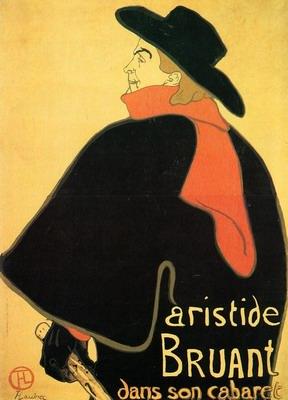 Aristede Bruand at His Cabaret