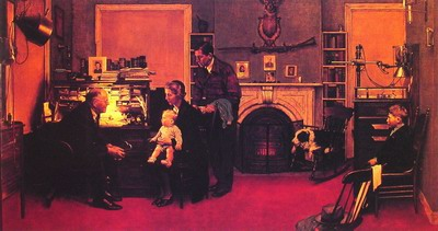 Norman Rockwell Visits a Country Doctor