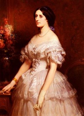 Portrait DUne Dame, portrait of a lady