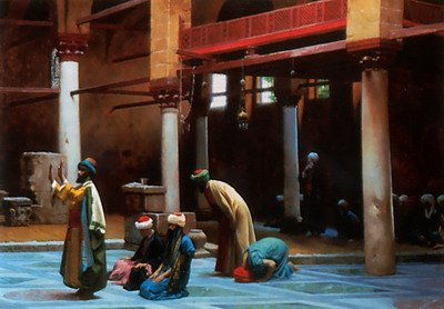 Prayer in the Mosque