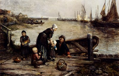 A Fishermans Family, Marken
