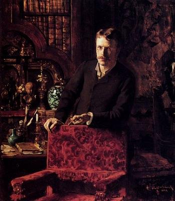 A Gentleman In An Interior