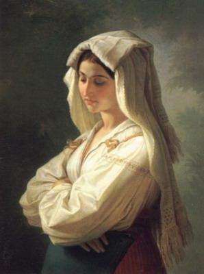 Bildnis einer Italienerin