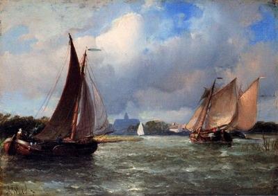 Bomschuiten Heading For Shore