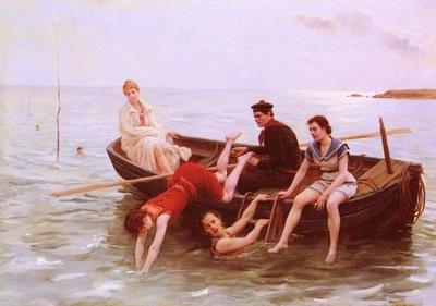 Les Baigneuses, bathers