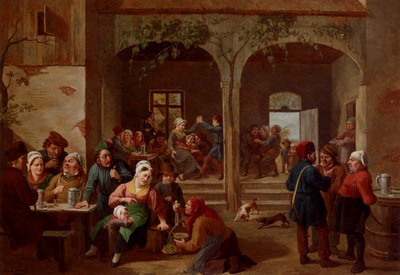 Merrymaking In The Tavern