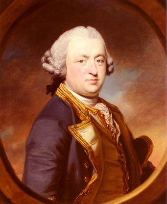 Portrait Of Admiral Thomas Craven