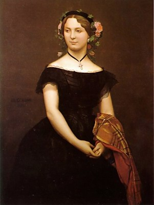 Portrait of Mlle Durand