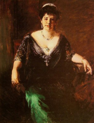 Portrait of Mrs William Merritt Chase