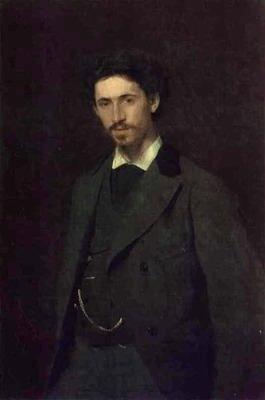Portrait of the Artist Ilya Repin