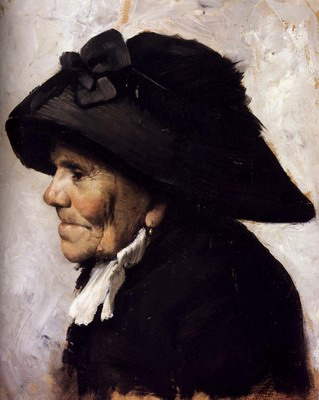 Study Of The Head Of An Old Woman