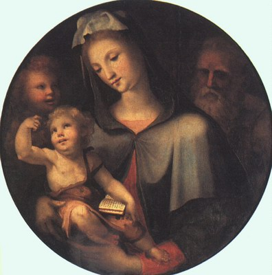 The Holy Family With Young Saint John
