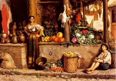 Un Marche Aux Legumes