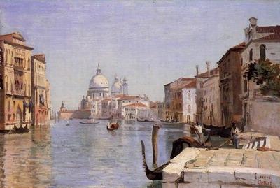 Venice View of Campo della Carita from the Dome of the Salute