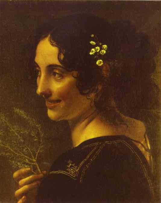 A Gipsy with a Branch of Myrtle. 1819