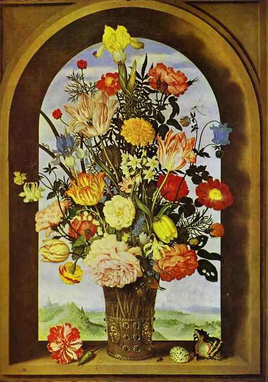 Bouquet of Flowers. c. 1619
