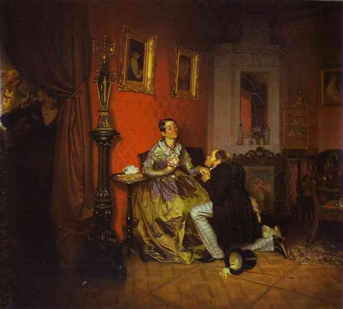 Difficult Bride. 1847