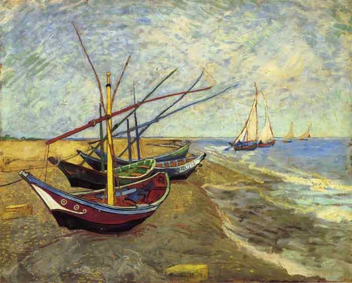 Fishing Boats, 1888