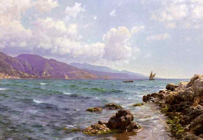 Fishing Boats on the Water, Cap Martin, 1907