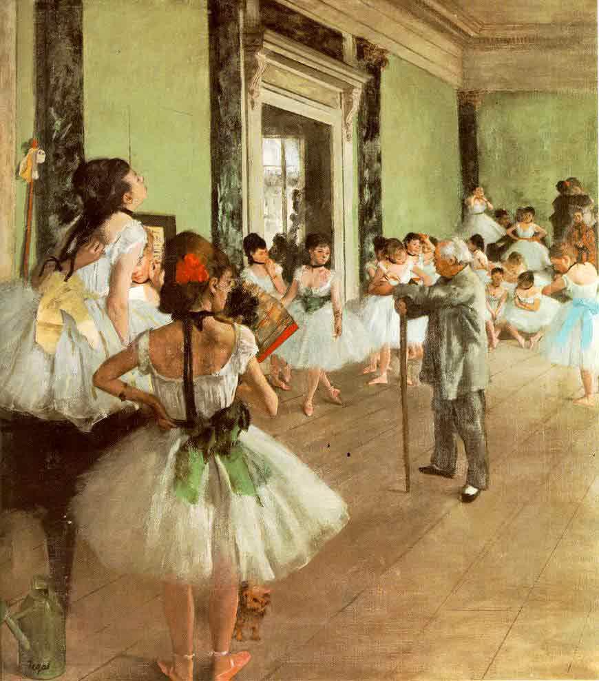 La classe de danse (The Dancing class)