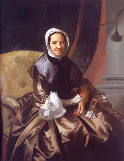 Mrs. Thomas Boylston (Sarah Morecock). 1765