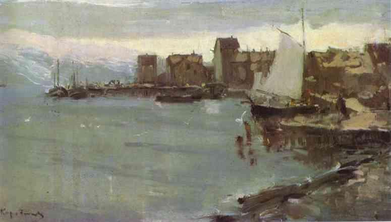 Norwegian Harbour. 1894