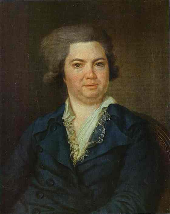 Portrait of Count A. I. Vorontsov. 1780