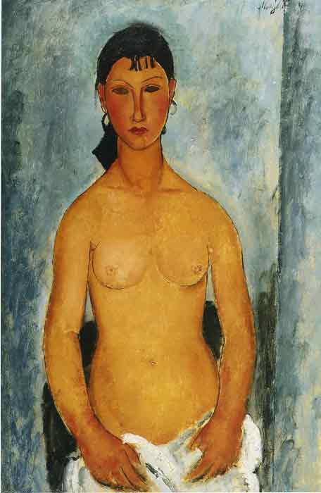 Standing Nude- Elvira, 1918
