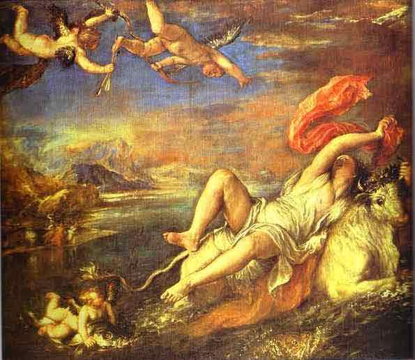 The Rape of Europe. 1562