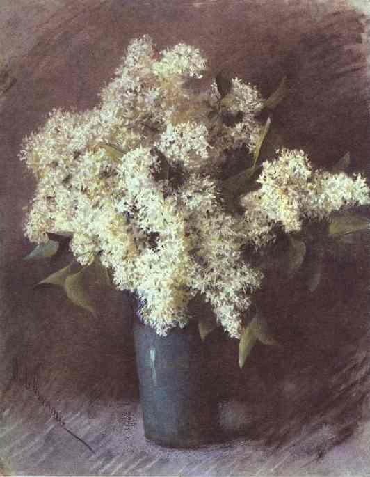 White Lilac. 1895